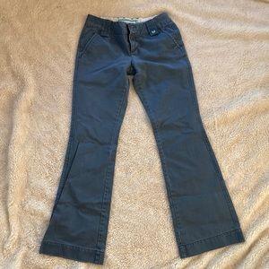 Lot of 2 Aeropostale Khaki and Blue pants Size 1/2